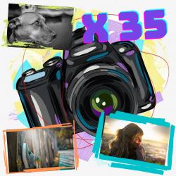 Pack x35 fotos