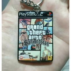 Llavero GTA San Andreas PS2...