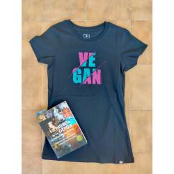 Camiseta Vegan pintada a mano