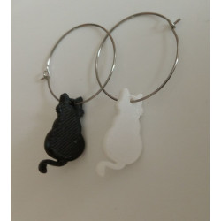 Pendientes gato 3