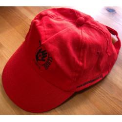 Gorra de tela roja El Campito