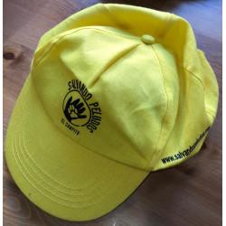 Gorra de tela amarilla El...
